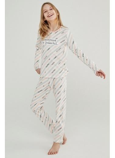 Penti Teen Sısterhood 2Li Pijama Takımı Renkli